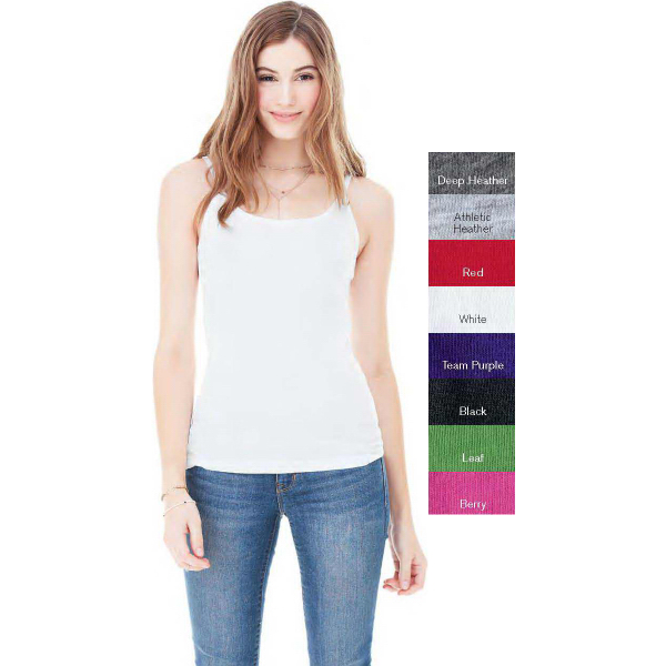Personalized Bella + Canvas Ladies' Sheer Jersey Tank Top