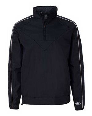 Imprinted Rawlings 1/4 Zip Micro poly Pullover
