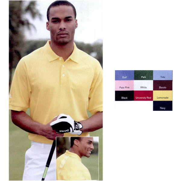 Personalized Adidas Golf ClimaLite (R) Tour Pique Short Sleeve Shirt