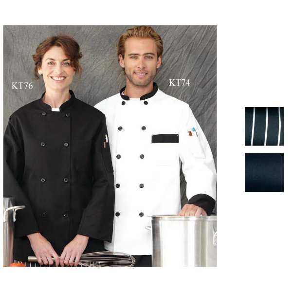 Personalized Chef Designs Garnish Chef Coat