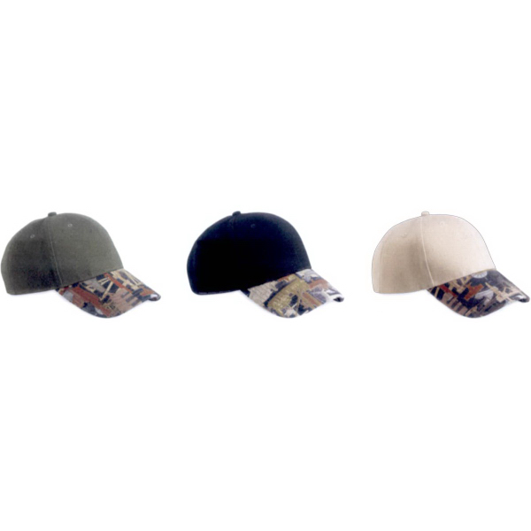 Personalized Kati Solid Crown with Oilfield Camo Cap