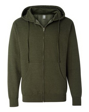 Personalized Independent Trading Co. Full-Zip Hooded Sweatshirt