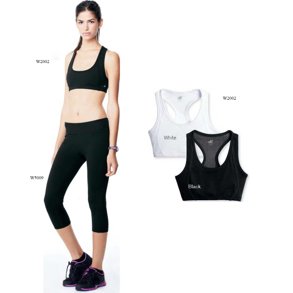 Custom Alo (TM) Ladies' Mesh Back Sports Bra