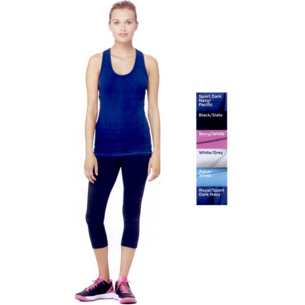 Promotional Alo (TM) Ladies' Racerback Bamboo Tank