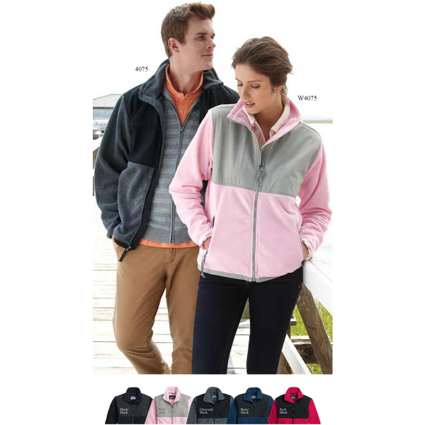 Customized Weatherproof Ladies' Colorblock Beacon Jacket