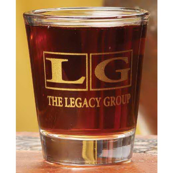 Personalized 2 oz. Glass Shooter