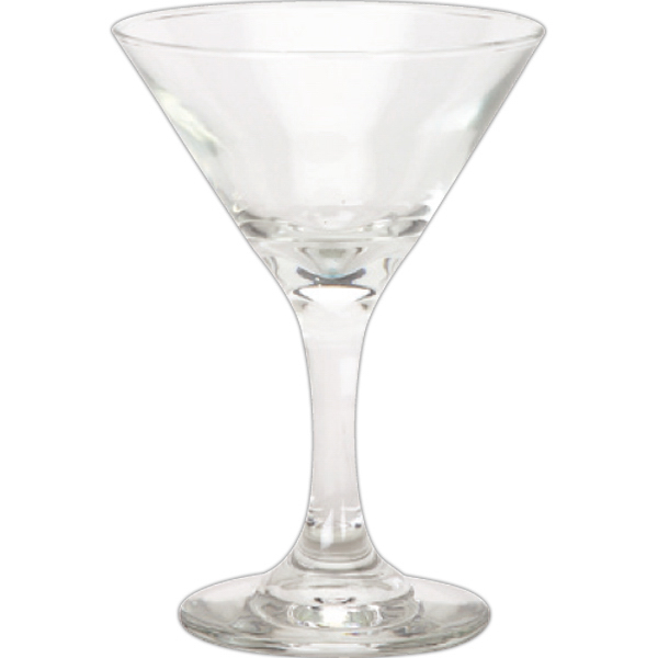 Personalized 9.25 oz Martini Glass