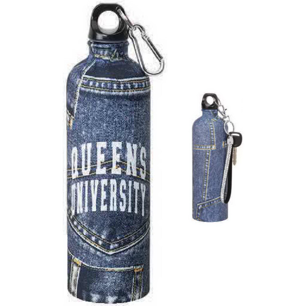 Imprinted 24 oz. Stainless Jean Water Bottle