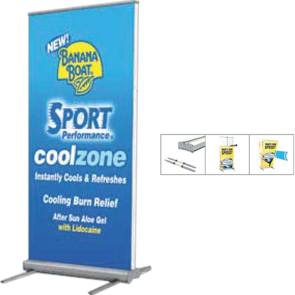 Printed Outdoor Retractable Banner Display