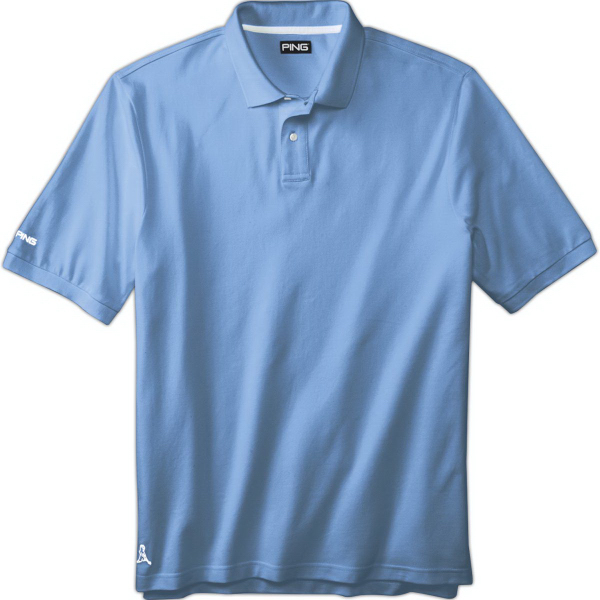 Imprinted Ping (R) Men's Eagle Polo