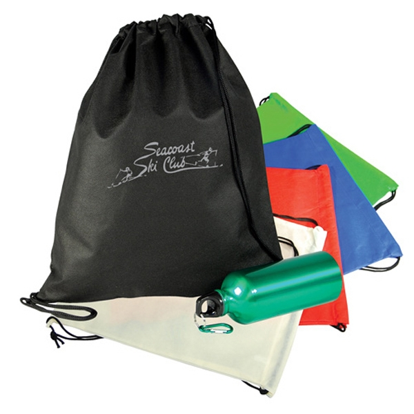 Custom Nonwoven Drawstring Shoulder Pack