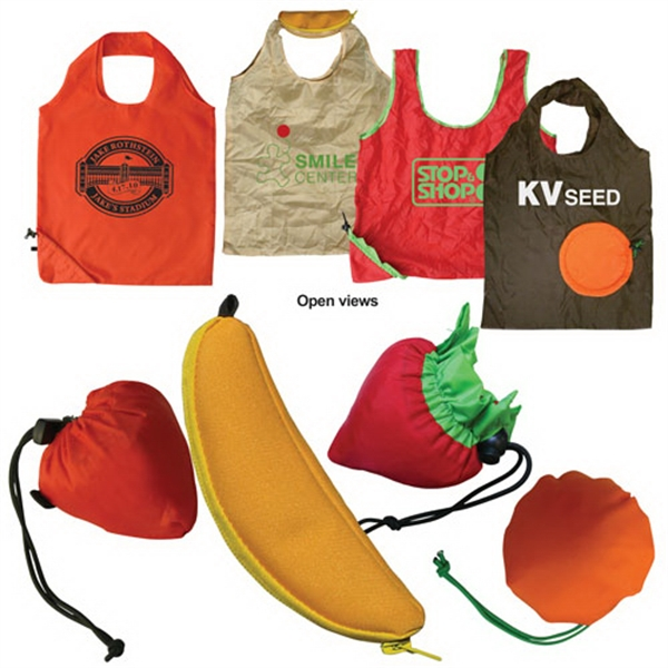 Promotional Fruit Shape Foldable Tote
