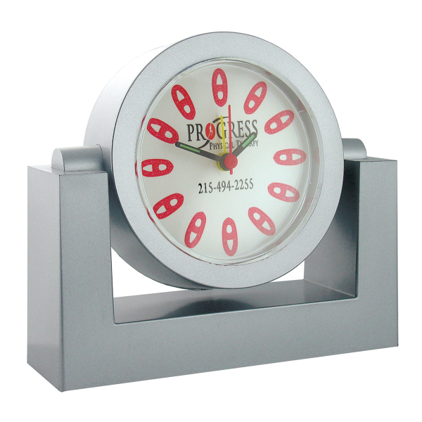 Printed Swivel Alarm Clock