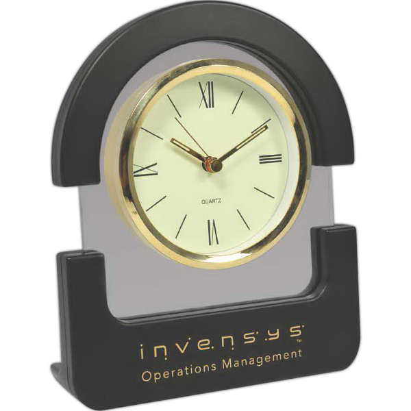 Custom Unique Design Desk Top Clock
