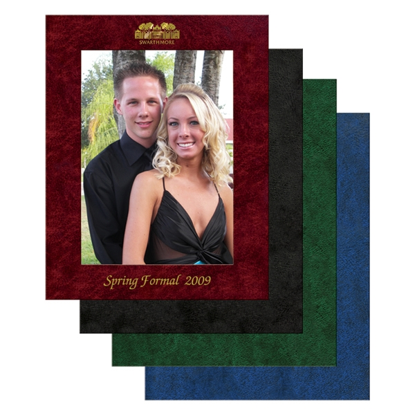 "Personalized Leatherette Picture Frame, 5"" x 7"""