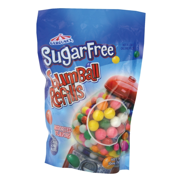 Custom 16 oz. Bag of Sugarfree Gumballs