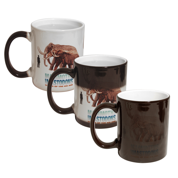 Imprinted 11 oz Color Changing Mug