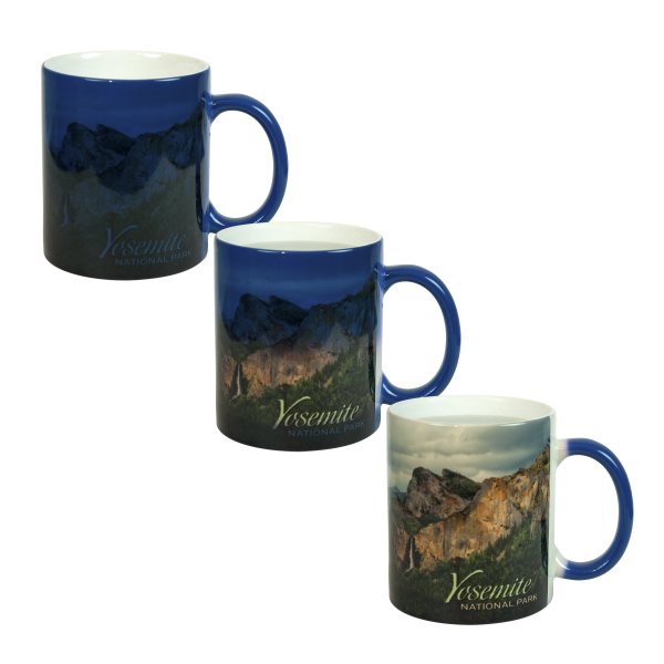 Custom 11 oz Color Changing Photo Mug (Blue)