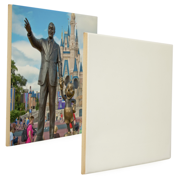 "Personalized 6"" x 8"" Ceramic Photo Tile (Gloss Finish)"