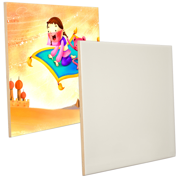 "Personalized 8"" x 10"" Ceramic Photo Tile (Gloss Finish)"