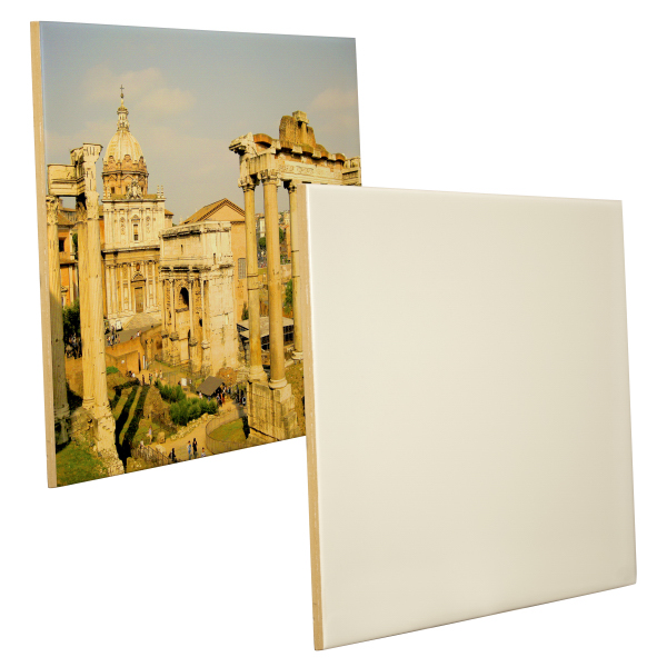 "Customized 8"" x 12"" Ceramic Photo Tile (Gloss Finish)"