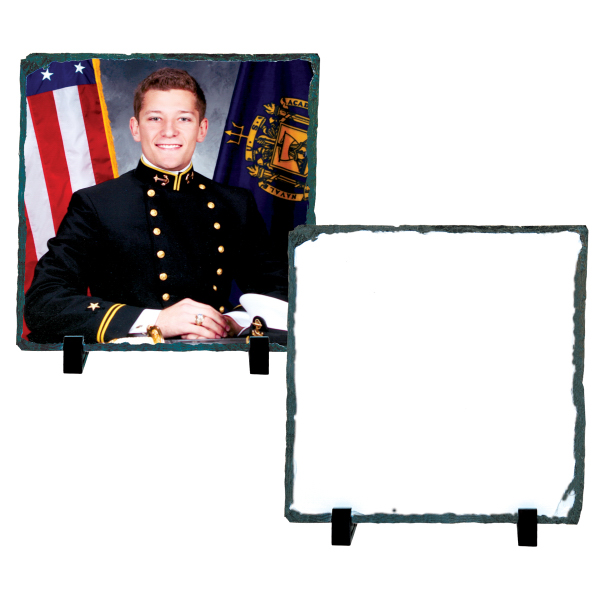 "Custom Photo Slate - Medium Square (7.2"" x 7.2"")"