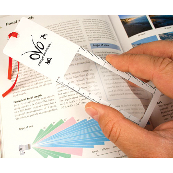 Personalized Bookmark Magnifier