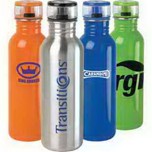 Printed 25 oz Stainless Steel Water Bottle