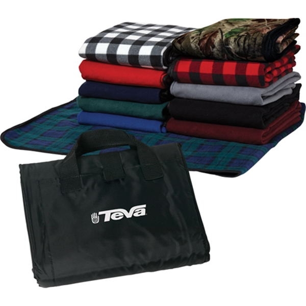 Customized Fleece Picnic Blanket