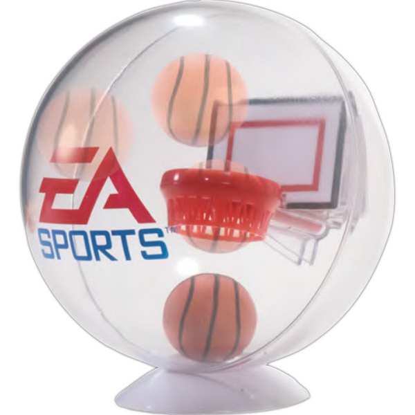 Personalized Desktop Basketball Globe Game