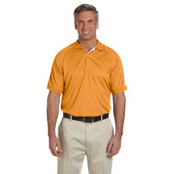 Promotional Men's Dri-Fast (TM) Advantage (TM) colorblock mesh polo