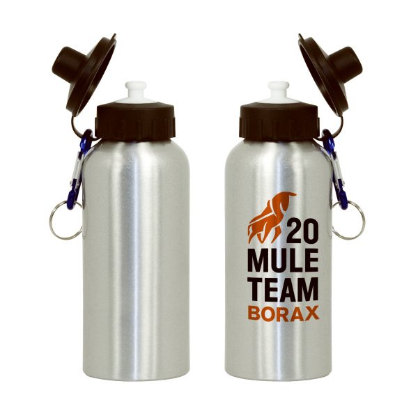 Customized 500ml Aluminum Sport Bottle - Silver