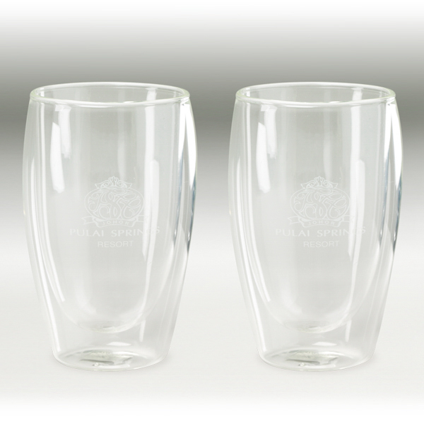 Promotional Binara 10 oz. 2 Piece Glass Gift Set