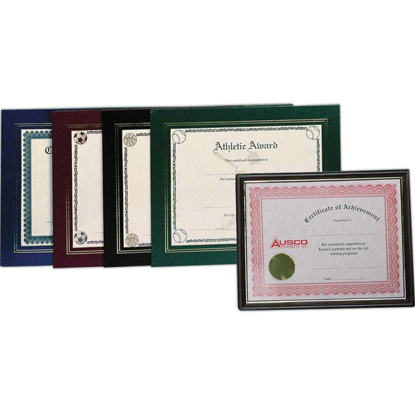 Promotional Certificate frame