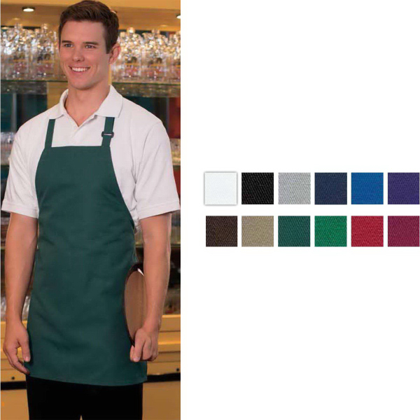 Customized Adjustable Bib Three-Pocket Apron