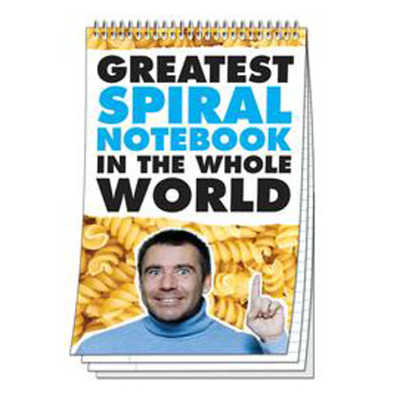 Promotional Spiral Bound Notebook - 50 Sheets - 5.125x8.125 (Top Bound)