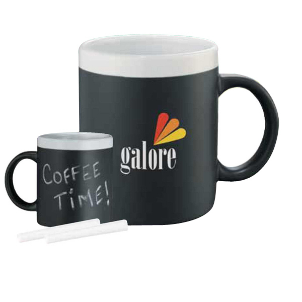 Printed Chalk It Up Ceramic Mug