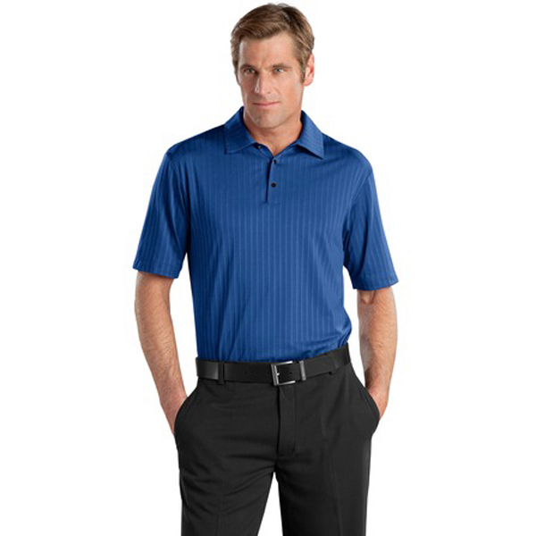 Promotional Nike Golf Elite Series Dri-Fit Vertical Texture Bonded Polo