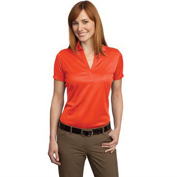 Custom Ladies' Performance Fine Jacquard Sport Shirt