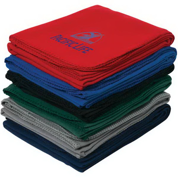 Printed Econo Fleece Blanket