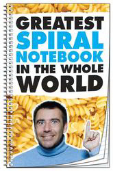 Printed Spiral Bound Notebook - 50 sheets - 5.125x8.125 (Side Bound)