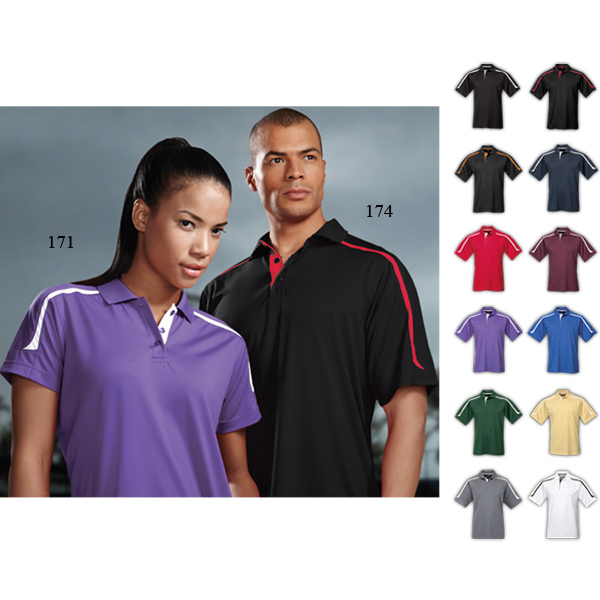 Customized Lady Titan - Women's Moisture Wicking Polo