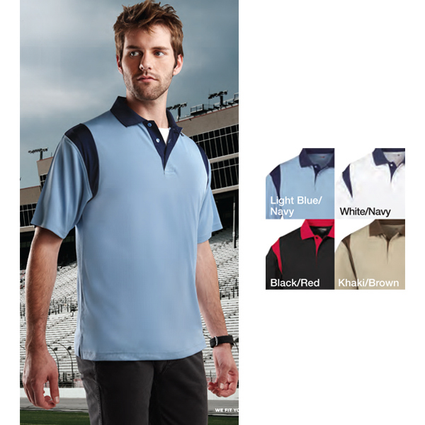 Custom Spotter -  moisture wicking polo