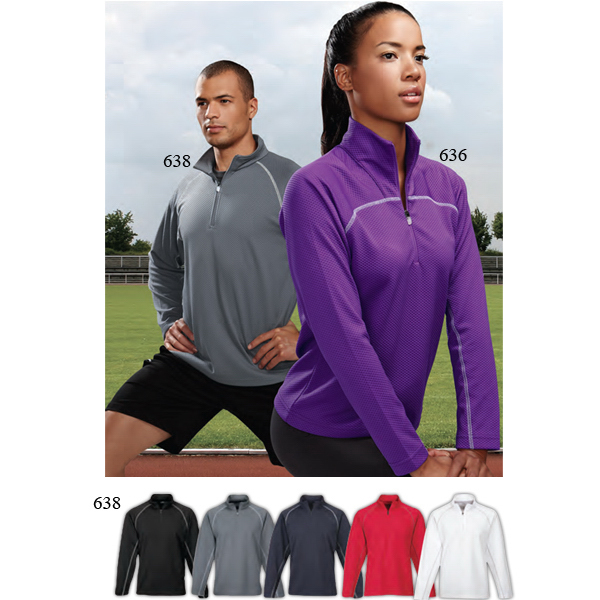Imprinted Reflex - Men's Moisture Wicking Pullover Shirt