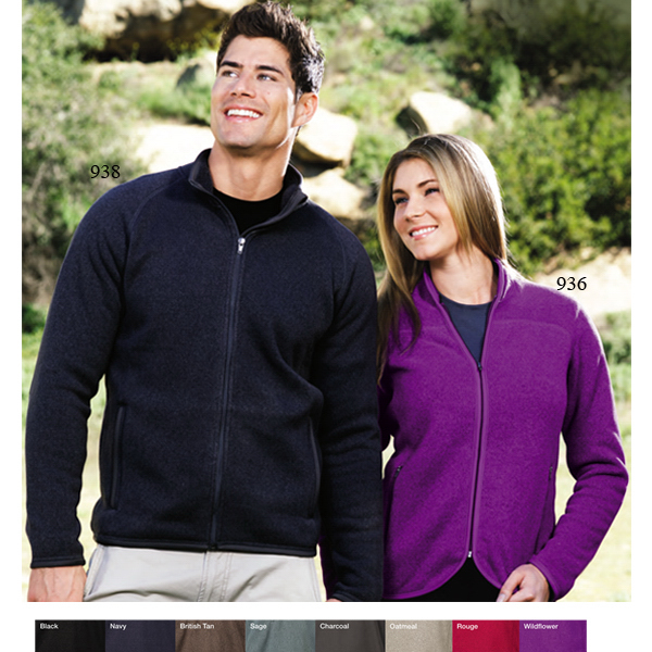Promotional Ella - Women's Full-Zip Fleece Jacket