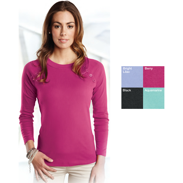 Custom Tiffany - Women's Long Sleeve Scoop Neck Shirt