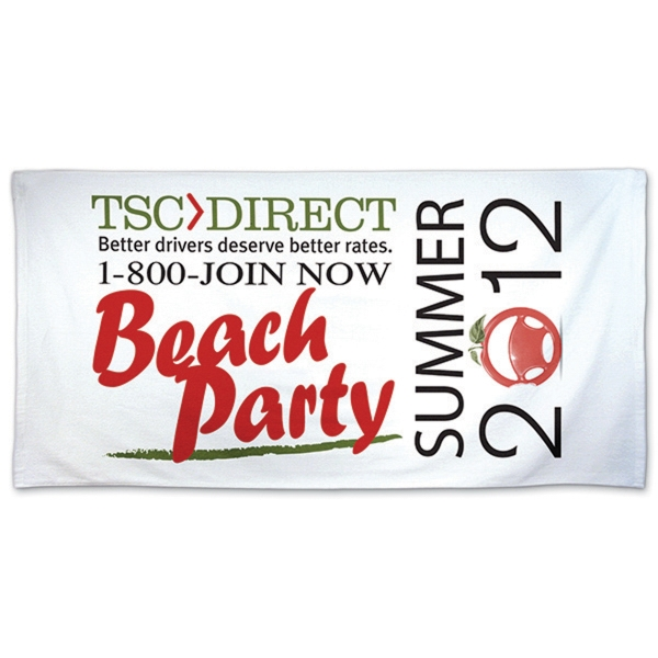 "Promotional Beach Towel 29"" x 58"""