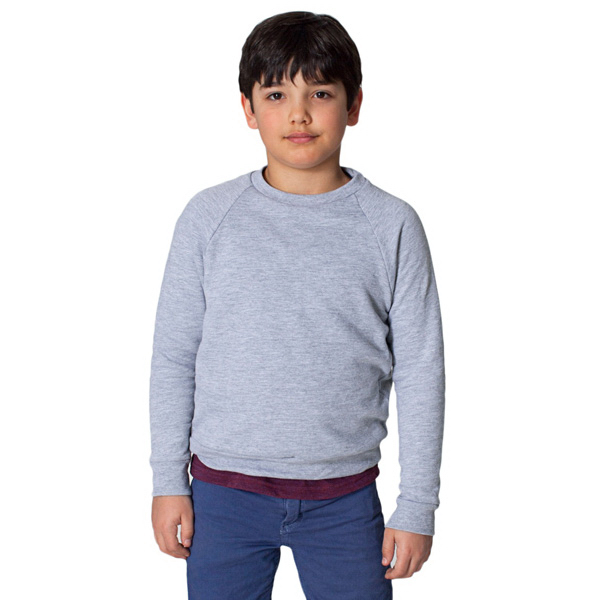 Promotional Youth California Fleece Long Sleeve Raglan