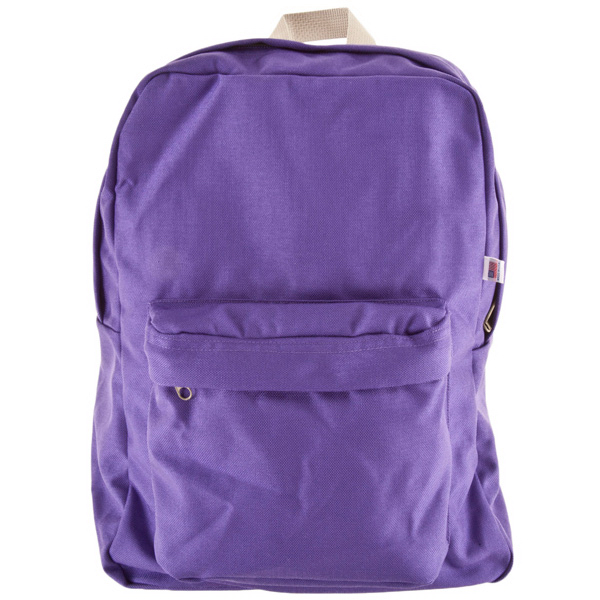 Imprinted Nylon Cordura School Bag