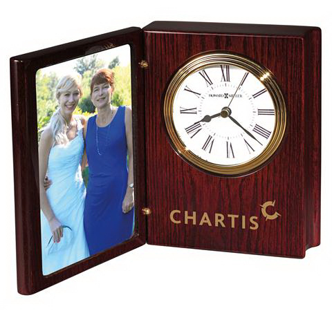 Promotional Portrait Book II Photo Frame Clock